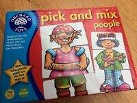 Orchard Toys 'Pick & Mix People' (age 3-7) 1-4 players