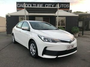 2017 Toyota Corolla ZRE172R Ascent White 7 Speed CVT Auto Sequential Sedan Morayfield Caboolture Area Preview