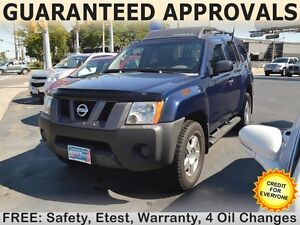 2007 Nissan Xterra S with ROOF RACK