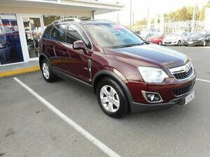 2011 Holden Captiva CG Series II 5 AWD Burgundy 6 Speed Sports Automatic Wagon Alexandra Headland Maroochydore Area Preview