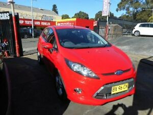 2013 Ford Fiesta WT Zetec Red 6 Speed Automatic Hatchback
