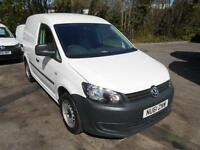 Volkswagen Caddy 1.6 TDI 75PS VAN DIESEL MANUAL WHITE (2011)