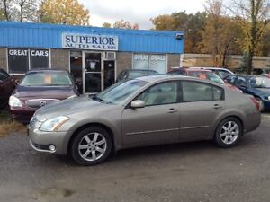 2005 Nissan Maxima 3.5 SL Fully Certified and Etested!