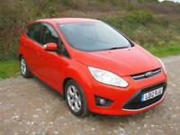 2012 (12) Ford C-Max Zetec, 1596cc Petrol, Manual, Hatchback Car, FULL HISTORY