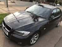 PCO CAR £100 A WEEK BMW 320D MANUAL (black) AVAILABLE FOR HIRE NORTH LONDON NO INSURANCE