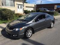 2009 HONDA CIVIC. AUTOMATIC. 100 000km. SPORT. COUPE 6395$