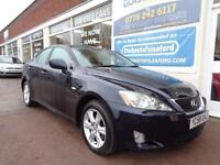 Lexus IS 220d 2.2TD Full S/H 9 stamps Finance Available P/X Swap