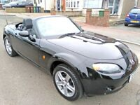 2008 MAZDA MX5 1.8 CONVERTIBLE, ONLY 46K MILES, ELECTRIC ROOF, LEATHER SEATS