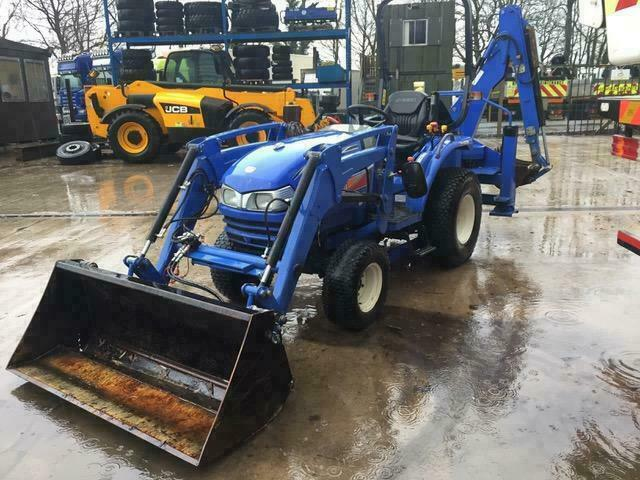 ISEKI TH4335 COMPACT TRACTOR BACKHOE, 1 OWNER, FSH, LOW HOURS, MAKE ME AN  OFFER | in Ingleton, Lancashire | Gumtree