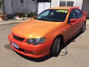 2004 FORD FALCON BA XR6 4.0L AUTO SEDAN ( CUSTOM PAINTWORK! ) Bayswater Bayswater Area Preview