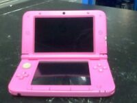 Nintendo 3DS XL pink