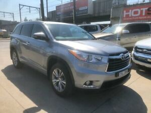 2014 Toyota Kluger GSU55R GXL AWD Silver 6 Speed Sports Automatic Wagon Granville Parramatta Area Preview