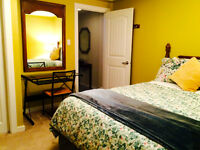 LRG BRIGHT COMFY EXEC ROOM MINUTES TO DWNTN, LRT, SHOPS, GYM