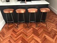 Swoon Copper Kitchen Bar Stools