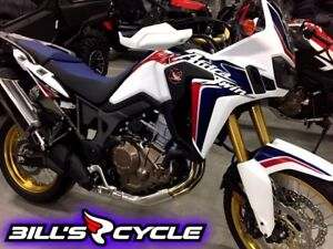 2017 HONDA On Road CRF 1000 LAH   Africa Twin White Metallic
