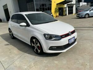 2012 Volkswagen Polo 6R MY13 GTI DSG White 7 Speed Sports Automatic Dual Clutch Hatchback Welshpool Canning Area Preview