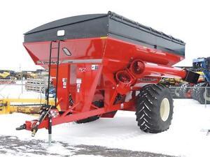2017 Unverferth 1050 Grain Cart - 1050bu, PTO drive, Scale, Tarp