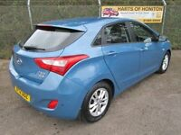 Hyundai i30 1.6 Active CRDi Turbo Diesel 5DR Auto (blue) 2012