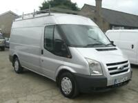FORD TRANSIT 2.2TDCi ( 110PS ) 280MWB MEDIUM ROOF 280M 2007 (07) SILVER