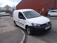 Volkswagen Caddy 1.6TDI 102PS VAN (Blue Motion) DIESEL MANUAL WHITE (2013)