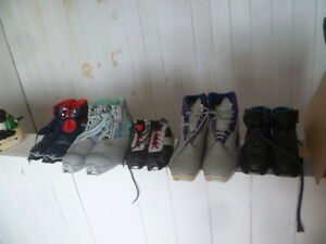 Cross Country Ski Boots 3 Pin, SNS NNN and SNS Non Profile.