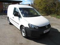 Volkswagen Caddy 1.6 TDI 102PS VAN DIESEL MANUAL WHITE (2012)
