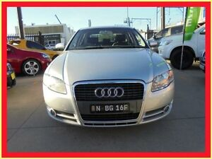 2007 Audi A4 B7 SE Silver CVT Auto 7 Speed Sedan Holroyd Parramatta Area Preview