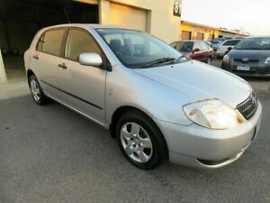 2003 Toyota Corolla ZZE122R Ascent Seca Silver 4 Speed Automatic Hatchback Werribee Wyndham Area Preview