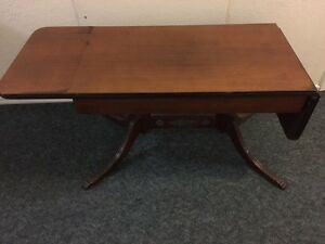 70's or earlier drop leaf coffee table