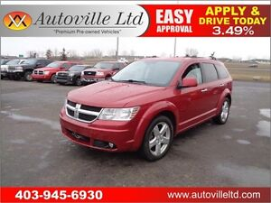 2010 Dodge Journey R/T AWD LEATHER EVERYONE APPROVED!!!