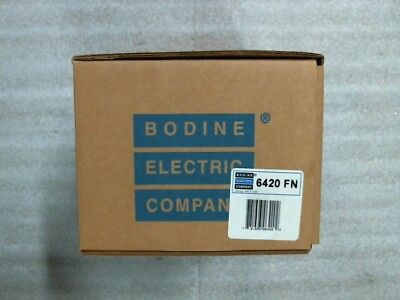 Bodine 6420 Fn 33a5fepm Small Motor 130v 18 Hp 2500 Rpm 0.91a - 60 Day Wnty