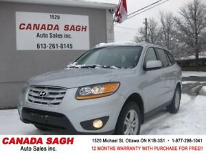 2010 Hyundai Santa Fe AWD 123km, LOADED ! 12M.WRTY+SAFETY $9990