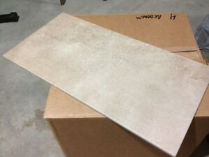 4 BOXES OF PORCELAIN TILE BRAND NEW 12 X 24