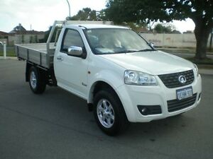 2013 Great Wall V240 K2 MY11 (4x2) White 5 Speed Manual Cab Chassis Victoria Park Victoria Park Area Preview