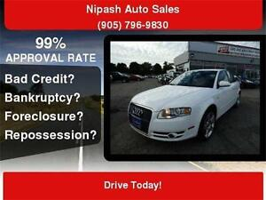 2007 Audi A4 2.0T QUATTRO FULLY LOADED CERTIFIED E-TESTED