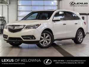 2016 Acura MDX Elite w/Rear DVD and Winter Tires Included