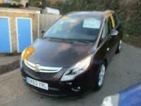 2013 Vauxhall Zafira Tourer 1.4 i VVT 16v Turbo Exclusiv 5dr Auto MPV Petrol Aut