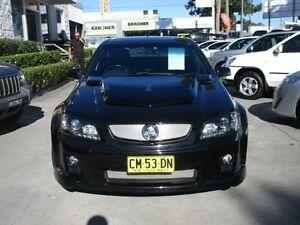 2008 Holden Ute VE SV6 Black 6 Speed Manual Utility North Parramatta Parramatta Area Preview
