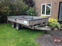 Ivor Williams LM126 Trailer. Sale or exchange for smaller one