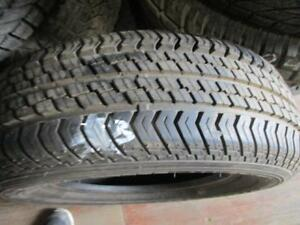 215/60R17 2 ONLY USED BF GOODRICH A/S TIRES