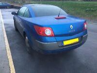 Renault megan 1.6 convertable