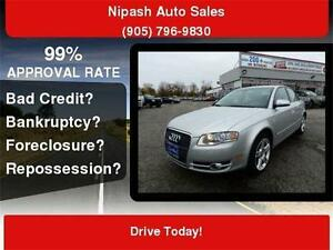 2008 Audi A4 2.0T,QUATTRO,LOADED SUNROOF CERTIFIED E-TESTED