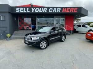 2013 Jeep Grand Cherokee WK Limited Wagon 5dr Spts Auto 5sp 4x4 3.0DT [MY13] Black Sports Automatic Como South Perth Area Preview