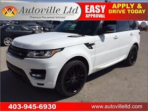 2014 LAND ROVER RANGE ROVER SPORT AUOTBIOGRAPHY SUPERCHARGED 4X4