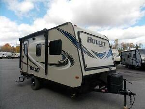 2017 KEYSTONE BULLET 1650EX HYBRID TRAVEL TRAILER