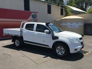 2014 Holden Colorado RG MY14 LX White Auto Sports Mode 4D Cab Chassis Gosford Gosford Area Preview