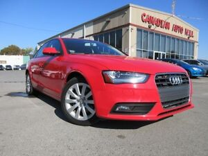 2013 Audi A4 2.0T QUATTRO, LEATHER, ROOF!