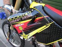 SUZUKI RM 125 K5 2005 MOTOCROSS MX BIKE