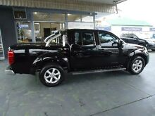 2012 Nissan Navara D40 MY12 ST (4x2) Black 5 Speed Automatic Dual Cab Pick-up Hamilton Newcastle Area Preview