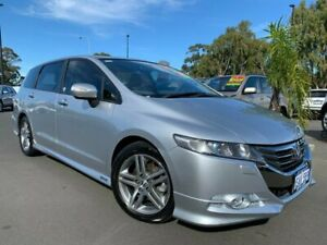 2012 Honda Odyssey 4th Gen MY12 Luxury Silver 5 Speed Sports Automatic Wagon East Bunbury Bunbury Area Preview